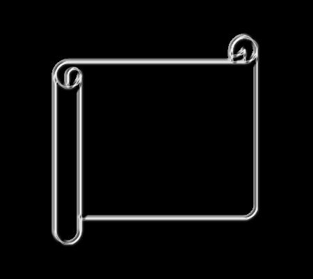 свиток рамка хром металл рисунок изображение скачать бесплатно