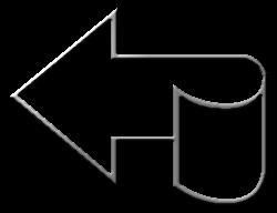 стрелка изогнутая хром картинка фото логотип аватар скачать