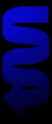 стрелка синий рисунок изображение скачать бесплатно