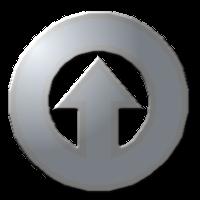 стрелка круг внутри хром clipart клипарт кнопки сайта оформление