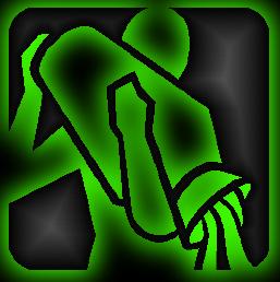 знак зодиака водолей зелёный рисунок изображение скачать бесплатно
