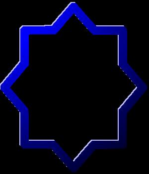 звезда еврейская синий рисунок изображение скачать бесплатно