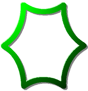 звезда шестигранная зелёный графика скачать бесплатно без регистрации
