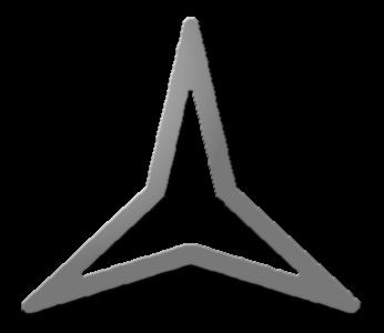 звезда стрелка трёхгранная символ рисунок картинка фото инфографика изображение