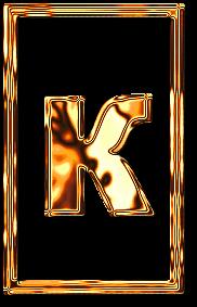 к буква алфавит золото рамка картинка фото русский красивый бесплатно скачать