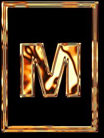 м буква алфавит золото рамка картинка фото русский красивый бесплатно скачать