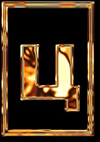 ц буква алфавит золото рамка картинка фото русский красивый бесплатно скачать