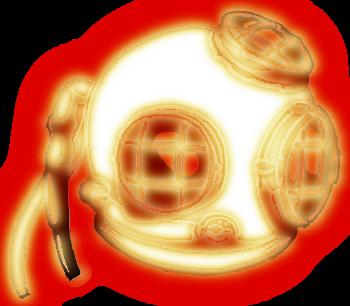 водолазный шлем рисунок изображение скачать бесплатно сценка