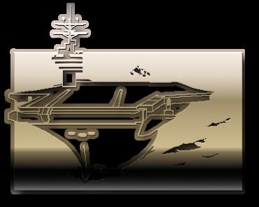 авианосец корабль флот рисунок изображение скачать бесплатно сценка