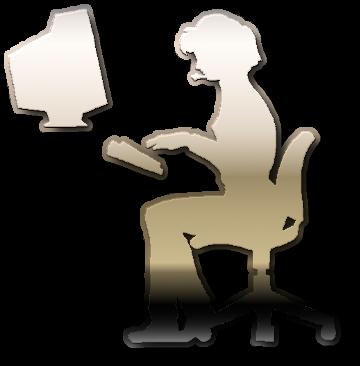 оператор компьютер центр поддержки рисунок изображение скачать бесплатно сценка