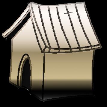 конура будка собачья рисунок изображение скачать бесплатно сценка